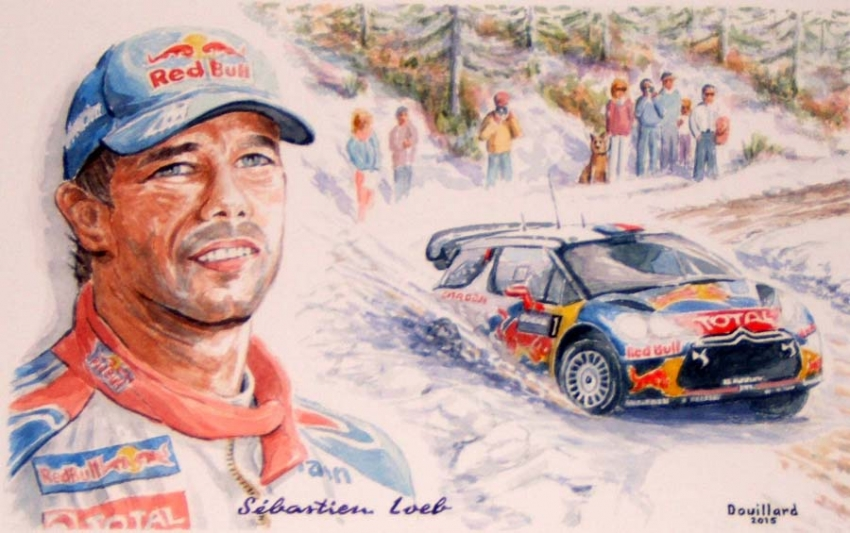 Sébastien Loeb by Douillard